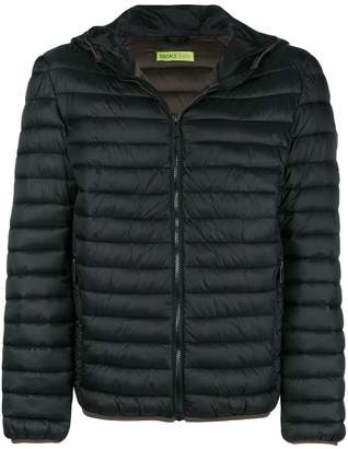 Versace hooded padded jacket