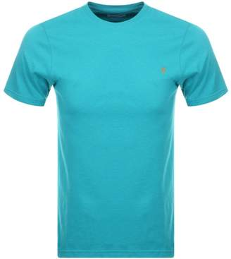 Farah Denny Slim Marl T Shirt Blue