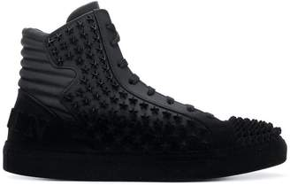 Philipp Plein Burning Together hi-top sneakers