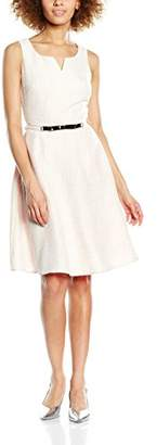 Yumi Women's Boucle Metallic Sleeveless Dress