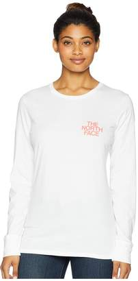 The North Face Long Sleeve Coastin' Outdoors Crew Tee Women's Long Sleeve Pullover