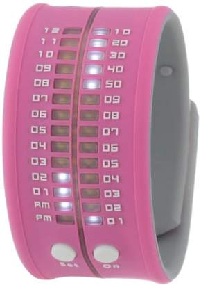 REFLEX Unisex PD0019 Baby Pink Reflex Silicon Slap Bracelet Style LED Watch