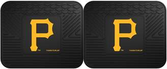 Fanmats FANMATS Pittsburgh Pirates 2-Piece Backseat Utility Mat Set