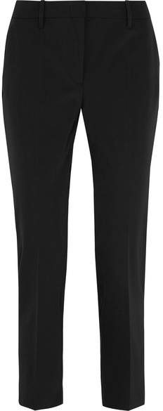 Prada - Crepe Skinny Pants - Black