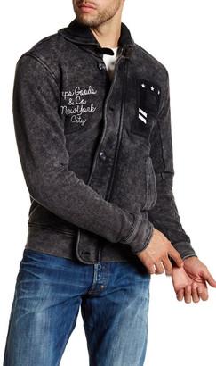Prps Hideki Shawl Collar Sweater $300 thestylecure.com