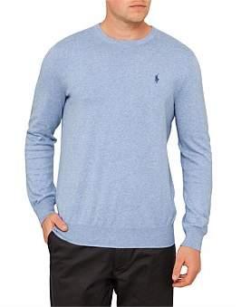 Polo Ralph Lauren Mens Long Sleeve Pima Cotton Sweater