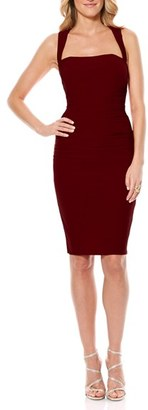 Laundry by Shelli Segal Twist Back Jersey Body-Con Dress $195 thestylecure.com