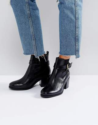 Carvela Heeled Buckle Strap Boot