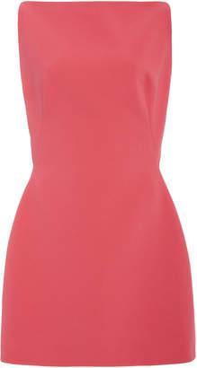 Zac Posen Bonded Crepe Sleeveless Mini Dress
