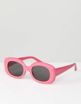 Asos DESIGN Square 90s Sunglasses