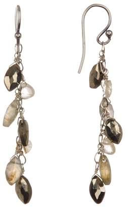 Chan Luu Semi Precious Stone Drop Earrings
