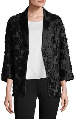Victoria Beckham Women's Oversized Applique Blazer