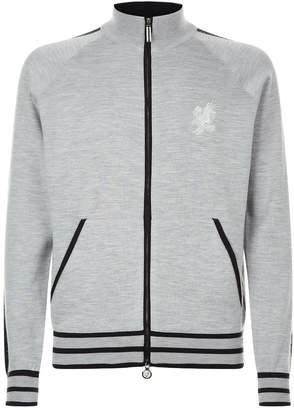 Stefano Ricci London Skyline Zip-Up Sweater