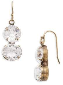 Sorrelli Core Dynamic Duo Crystal Drop Earrings