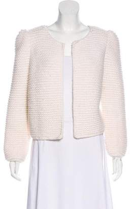 Co Wool Knit Cardigan