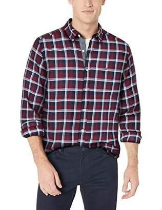 Nautica Men's Classic Fit Long Sleeve Plaid Button Down Shirt