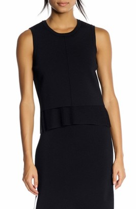 Women's Kendall + Kylie Layered Split Back Tank $225 thestylecure.com