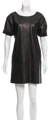Rebecca Minkoff Leather Shift Dress