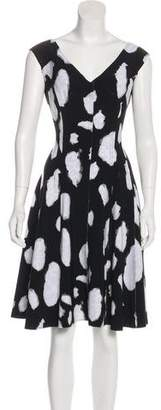 Norma Kamali Knit A-Line Dress