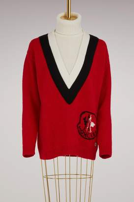 Moncler Gamme Rouge Bell alpaca sweater