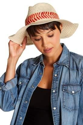 Melrose and Market Multi Color Trim Panama Hat