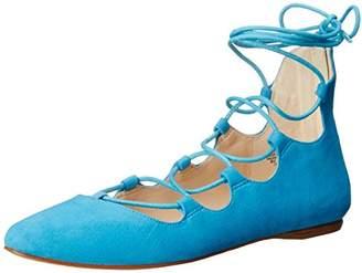 Nine West Women's SIGNMEUP Suede Ballet Flat