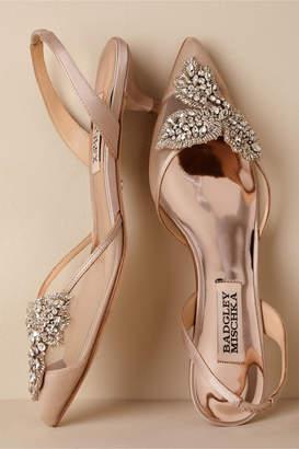 Badgley Mischka Vera Slingback Heels