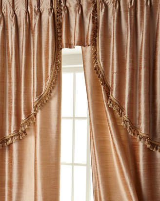 "Sweet Dreams Two 52""W x 108""L Curtains with Tassel Fringe at Bottom"