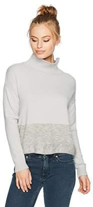 Ellen Tracy Women's Petite Size Yarn Blocked Sweater