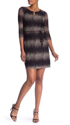 Sandra Darren 3/4 Sleeve Knit Sweater Dress