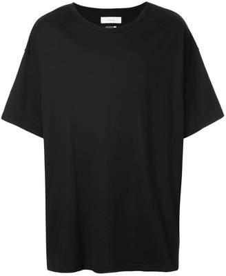 Facetasm ストライプパネル Tシャツ