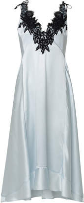 Schumacher Dorothee Satin Seduction Silk Midi Dress