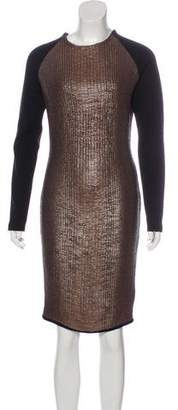 Viktor & Rolf Long Sleeve textured Dress w/ Tags