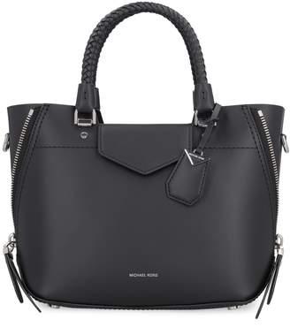Michael Kors Blakely Mat Leather Hand Bag