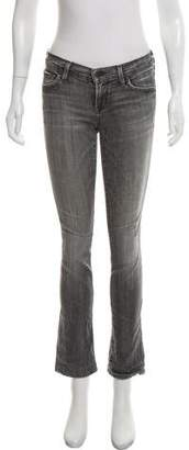 Citizens of Humanity Low-Rise Straight-Leg Jeans