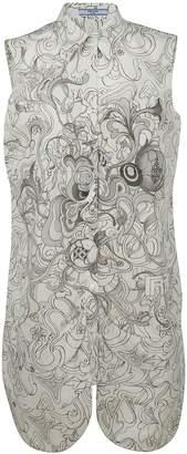 Prada Liberty Print Shirt Dress