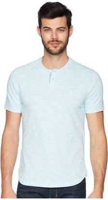 Original Penguin Short Sleeve Space Dye Henley Men's T Shirt