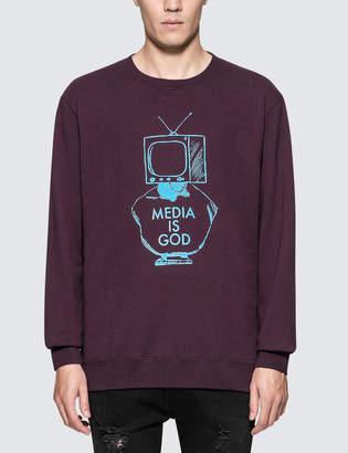 """Undercover Media Is God"""" Sweatshirt"""