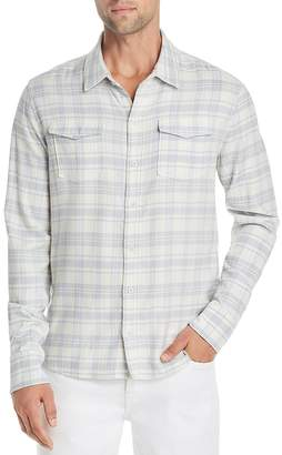 Paige Everett Plaid Regular Fit Flannel Shirt