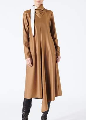 Tibi Viscose Drape Bandana Dress