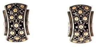 John Hardy Two-Tone Earrings