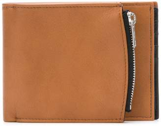 Maison Margiela side-zip bi-fold wallet