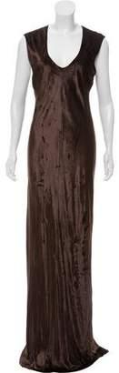 Alexander Wang Velvet Maxi Dress