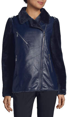 Moto Annabelle New York Leather Jacket