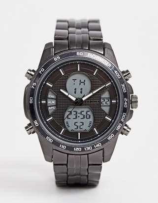 Steve Madden (スティーブ マデン) - Steve Madden mens digital watch with black dial