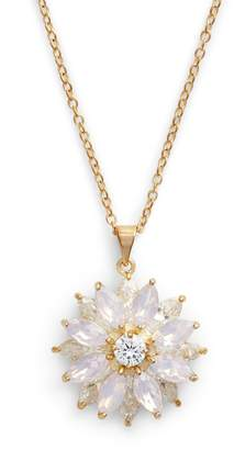 Nina Layer Floral Pendant Necklace