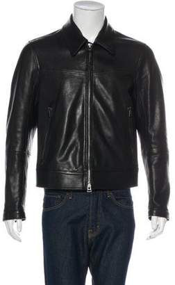 Tom Ford 2018 Zip-Accented Lambskin Jacket w/ Tags