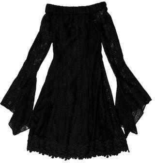 Nicholas Lace Off-The-Shoulder Dress w/ Tags