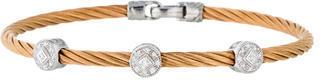 CharriolCharriol Three Diamond Station Cable Bracelet
