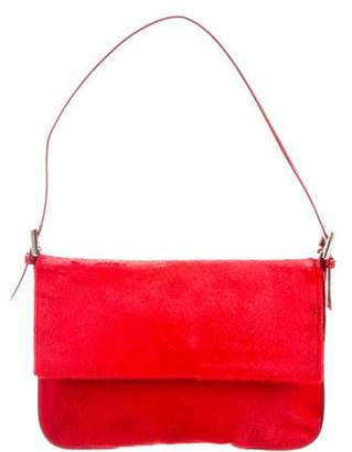 Renaud Pellegrino Pony Hair Shoulder Bag